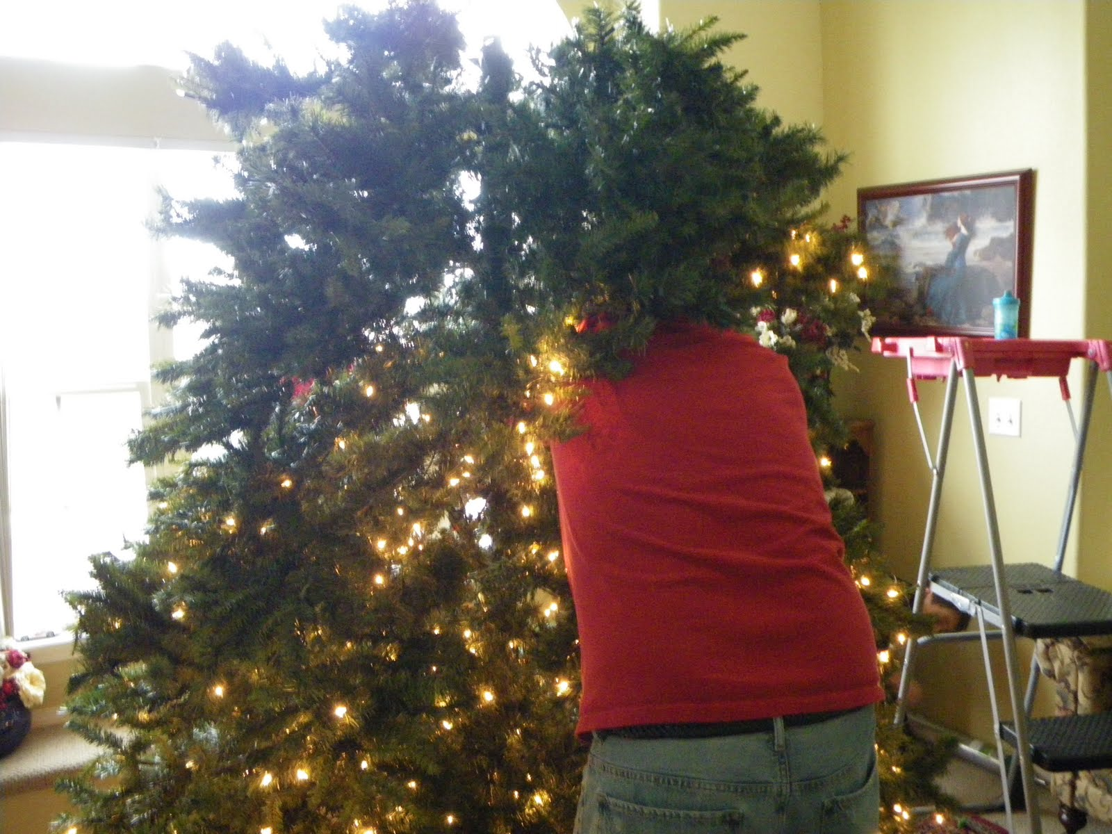 Breathe In Breathe Out: Attack Of The 12 Foot Christmas Tree