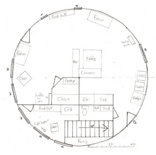 An Alaskan Family With A Yurt Yurt Floor Plans And Loft Plans Yurt building and starting a homestead: an alaskan family with a yurt