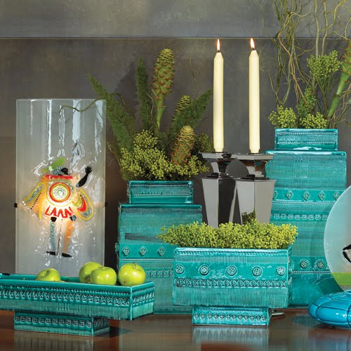 Turquoise, Tulips And Bliss: More Tuesday Turquoise Trinkets