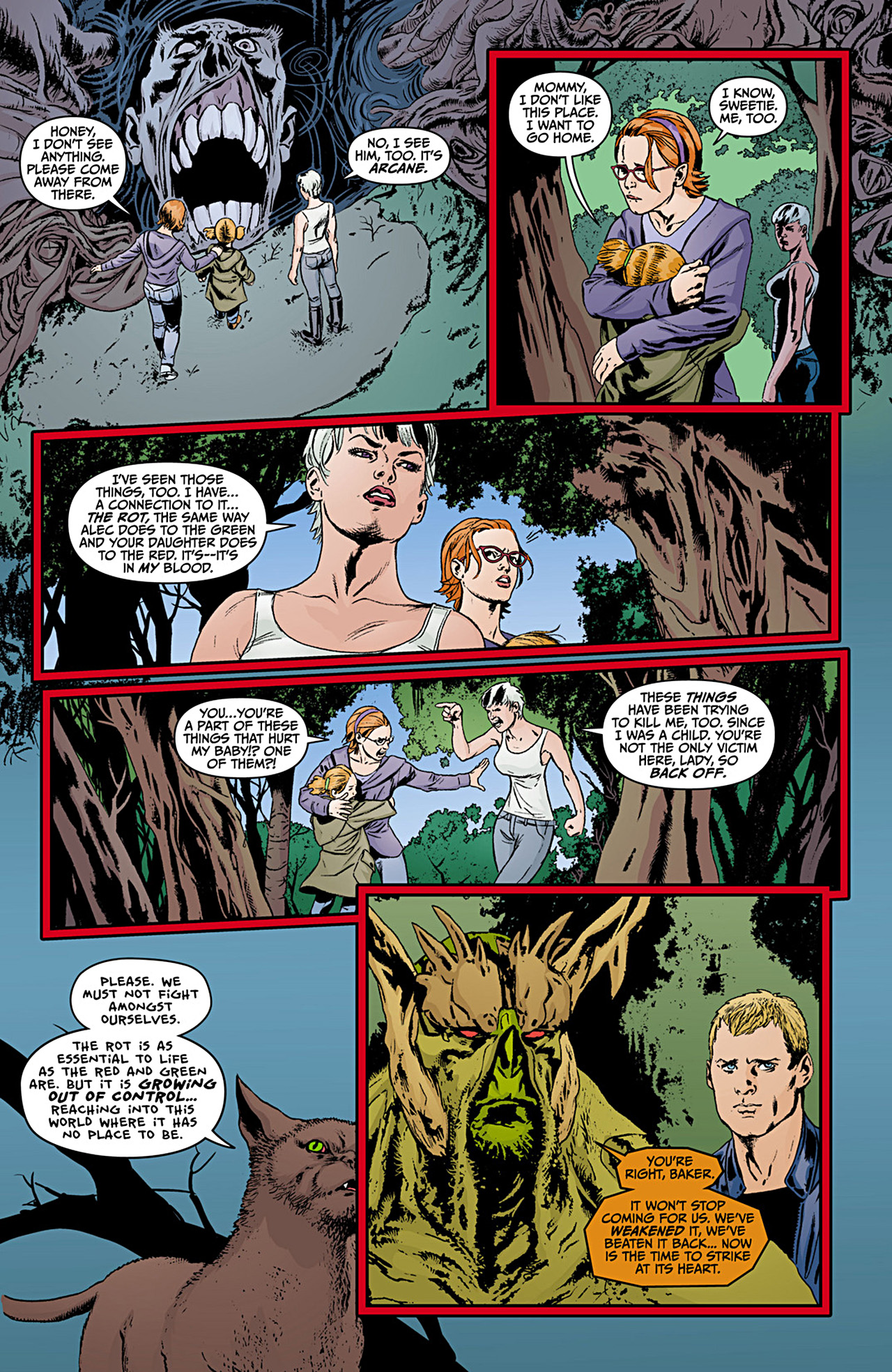 Read online Animal Man (2011) comic -  Issue #12 - 14