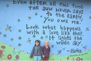 شهرب راز شعر حافظ در مهد کودک امریکا