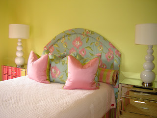 In Stitches How To Make A Fabric Headboard