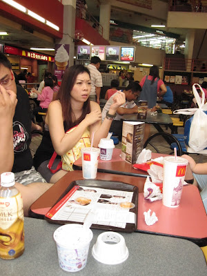 Then As Usual We Went To The Meeting Place Which Is Macs At Holiday Plaza Those That Frequent To Jb Will Know This Place Definitely