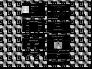 Black Layouts For Myspace 104
