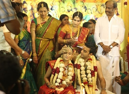 Soundarya Rajinikanth Marriage Photos S Daughter Wedding Pics Images