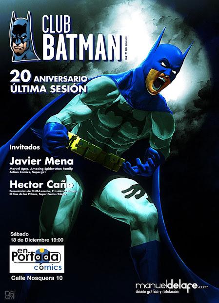 Eneasbeat Club Batman 20 Aniversario