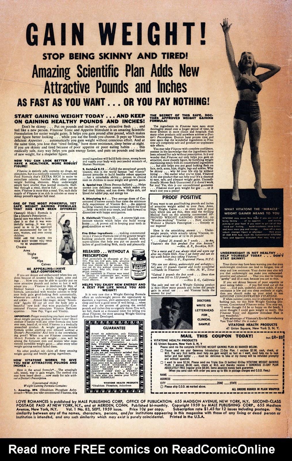 Love Romances (1949) issue 83 - Page 2