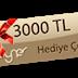 ilk 5000 kişiye Olay ürünleri hediye