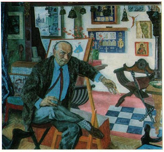 df58fd75bbf6 Соломон Борисович Эпштейн (род.1925) - «Портрет Н.П. Акимова - народного  артиста СССР»