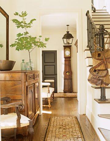 Beautiful Rustic Entryway