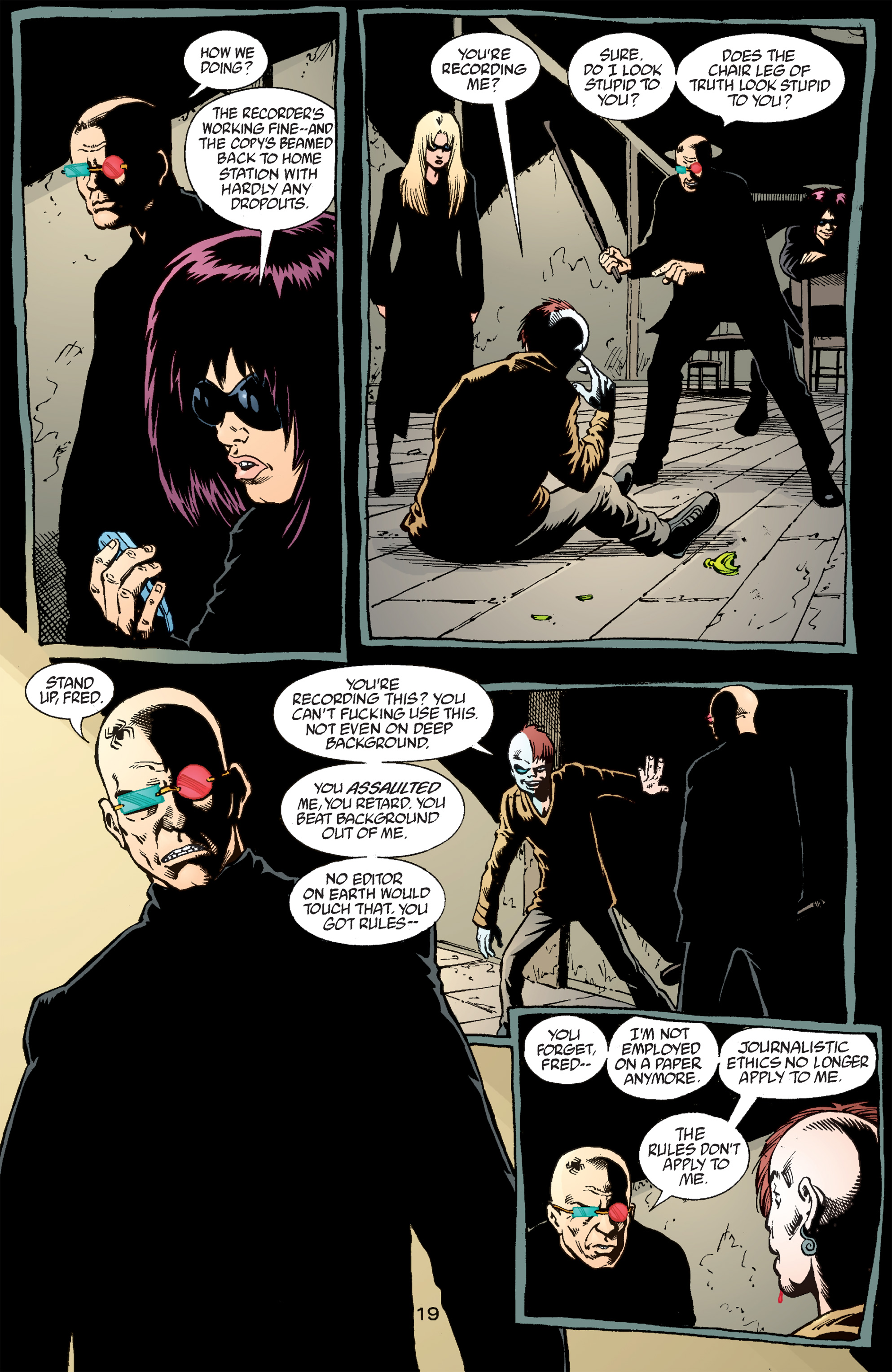 Read online Transmetropolitan comic -  Issue #50 - 20