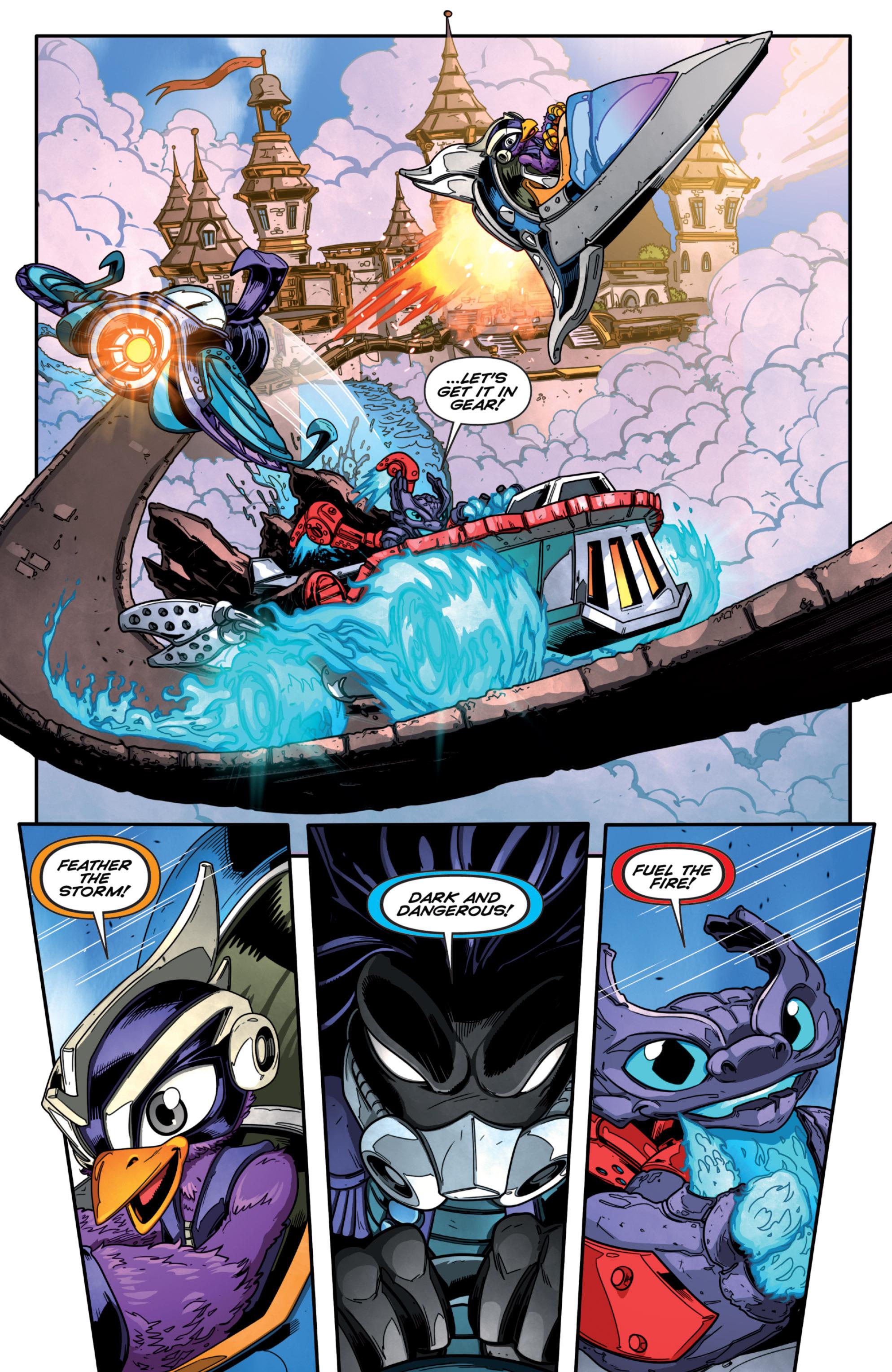 Read online Skylanders Superchargers comic -  Issue #1 - 10