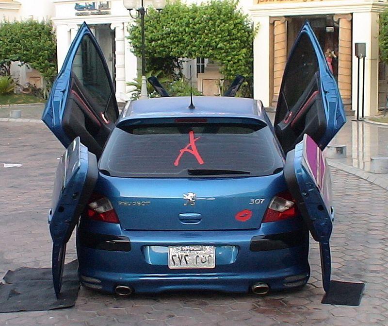 Sport Cars Modified Peugeot 307 Concept 2004 Pictures