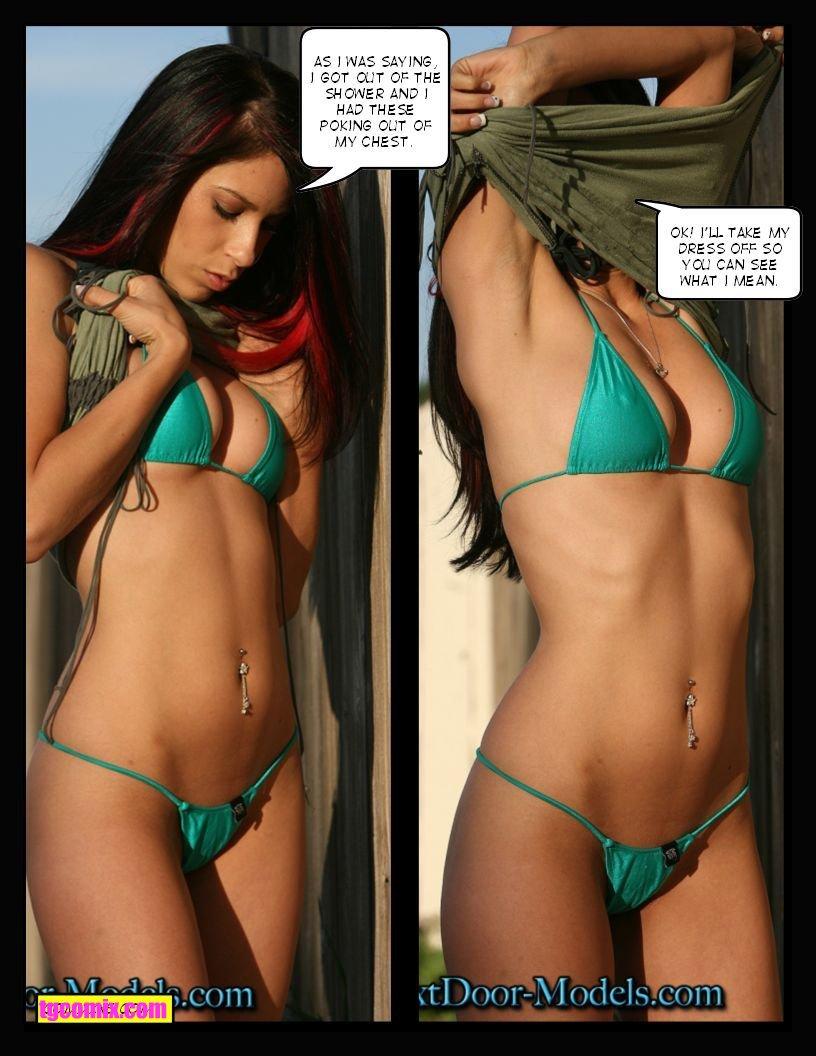 Share your Tg captions bikini