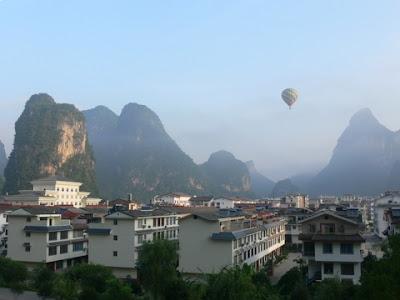 montgolfiere yangshuo