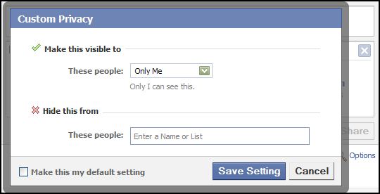 Facebook Privacy Doesn't Really Exist - Omid's TechBlog