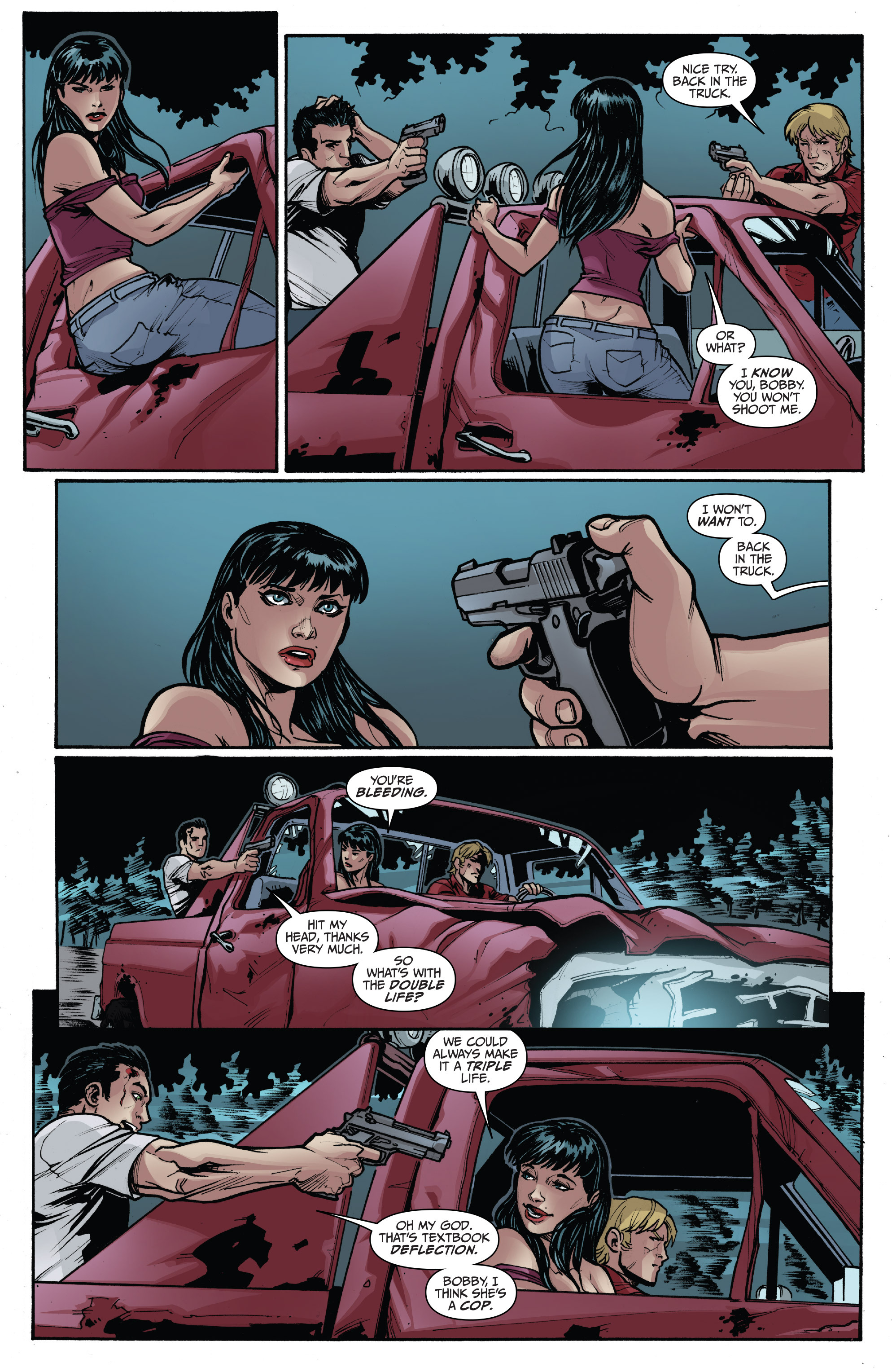 Read online 3 Guns comic -  Issue #3 - 22