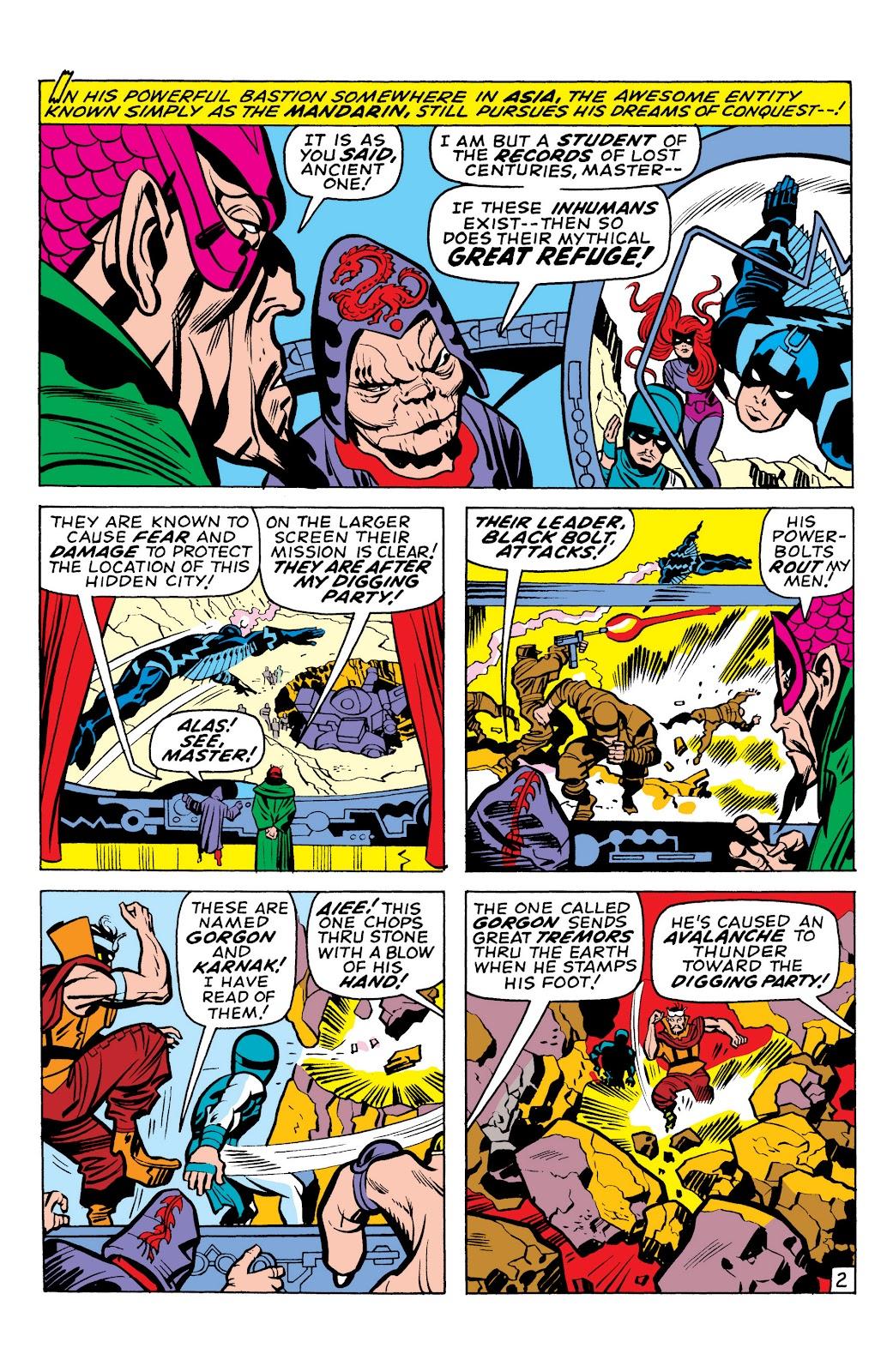 Read online Marvel Masterworks: The Inhumans comic -  Issue # TPB 1 (Part 1) - 93