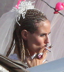 White Trash Wedding.Celebrity Gossip And Entertainment News Heidi And Seal S