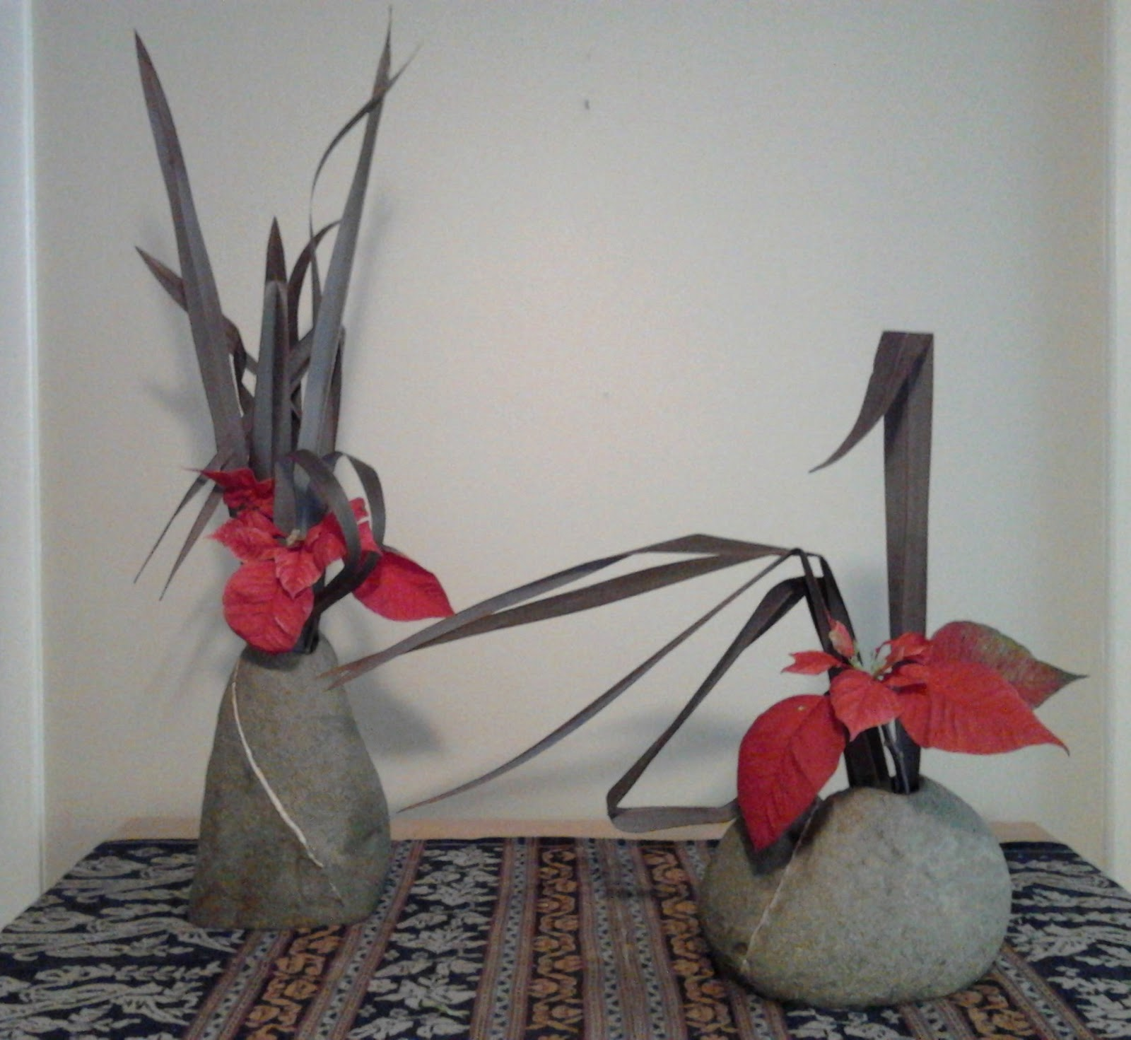 elizabeth berry ikebana freestyle composition with new. Black Bedroom Furniture Sets. Home Design Ideas