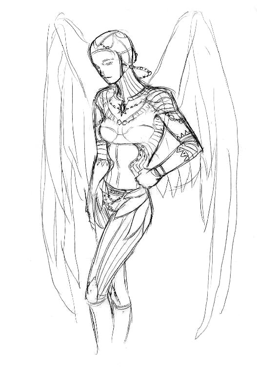 winluk33: A Chinese Tall Story concept-princess