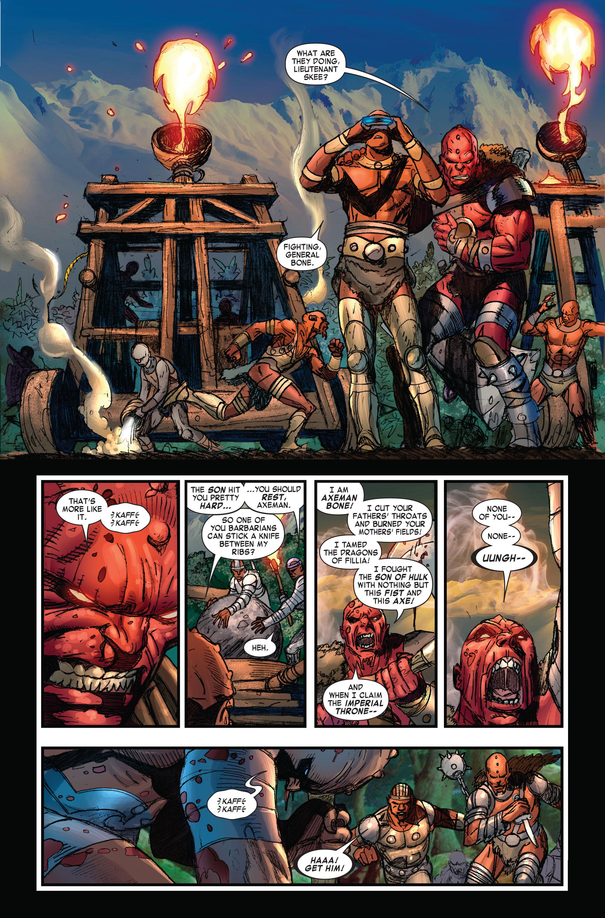 Read online Skaar: Son of Hulk comic -  Issue #3 - 7