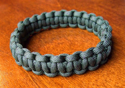 Some Folks Just Want A Slip On Type Paracord Bracelet Without Side Release Buckle Knot And Loop Or Bead Closure