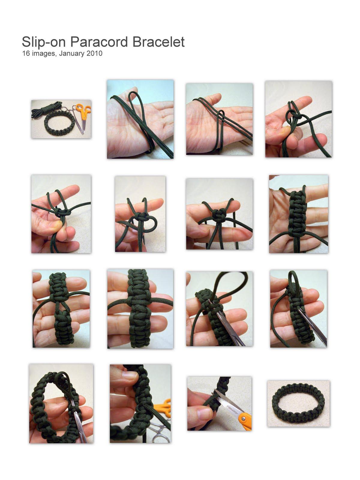 How To Make A Paracord Bracelet Espar Denen