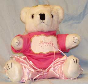 Pink Angel Bear