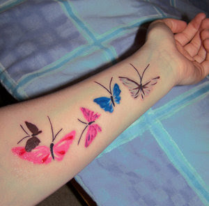 Arm Tattoo Butterfly