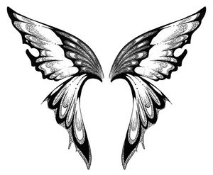 Nice Butterfly Tattoo With Image Butterfly Tattoos Design Picture 6