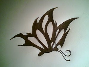 Nice Butterfly Tattoo With Image Butterfly Tattoos Design Picture 4