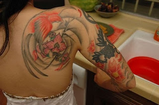 Nice Japanese Tattoos With Image Japanese Tattoo Designs For Female Tattoo With Japanese Bird Tattoo On The Body Picture 2