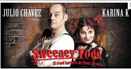 Resultado de imagen para sweeney todd musical chavez