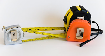 free stock photo of metal tape measures, copyright J.Gracey Stinson