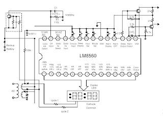 Lm8560 Clock Schematic - Diagram Schematic on
