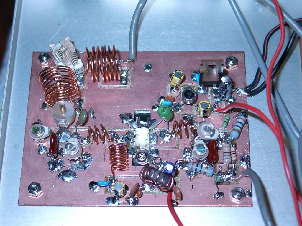 20w Vhf Linear Amplifier 2sc 50 Mhz