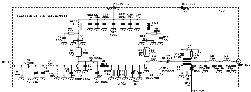 low pass filter for fm 88 108 mhz