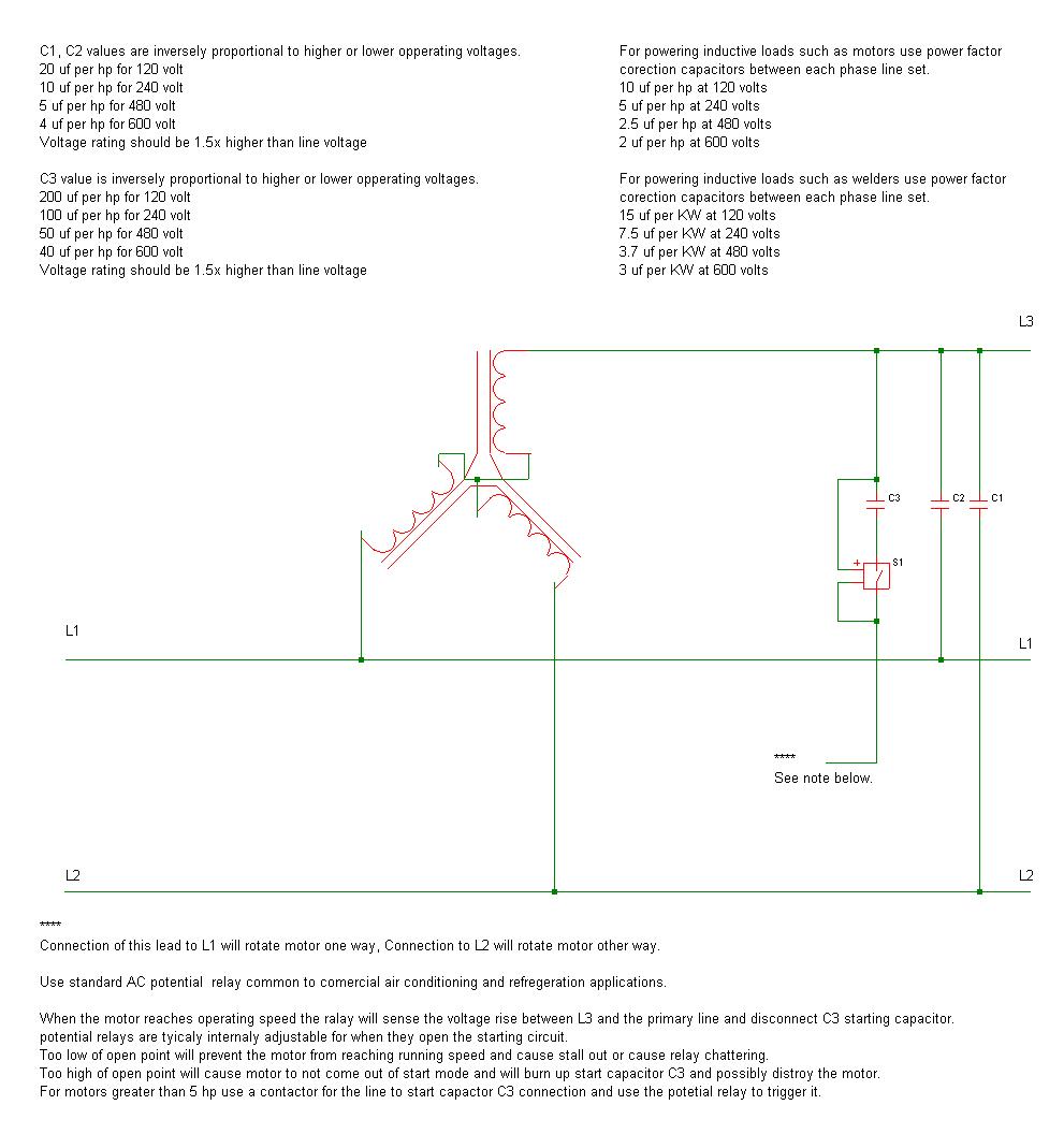 single phase to 3 phase converter wiring diagram [ 991 x 1056 Pixel ]