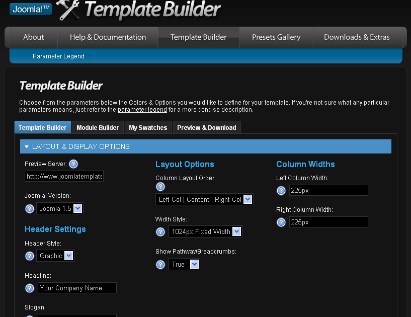 Tutorial arena free online template generator for joomla for Free joomla template creator software