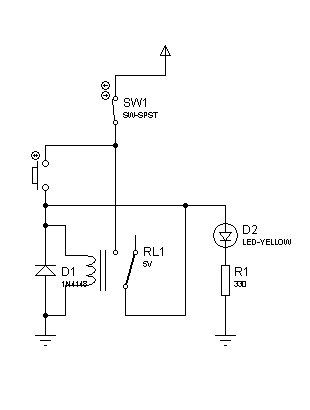 Circuit Desolator Latching Relay Circuit