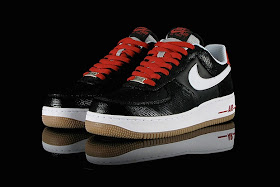 HypeSeeker: Nike Air Force 1 Low BlackWhiteRedGum