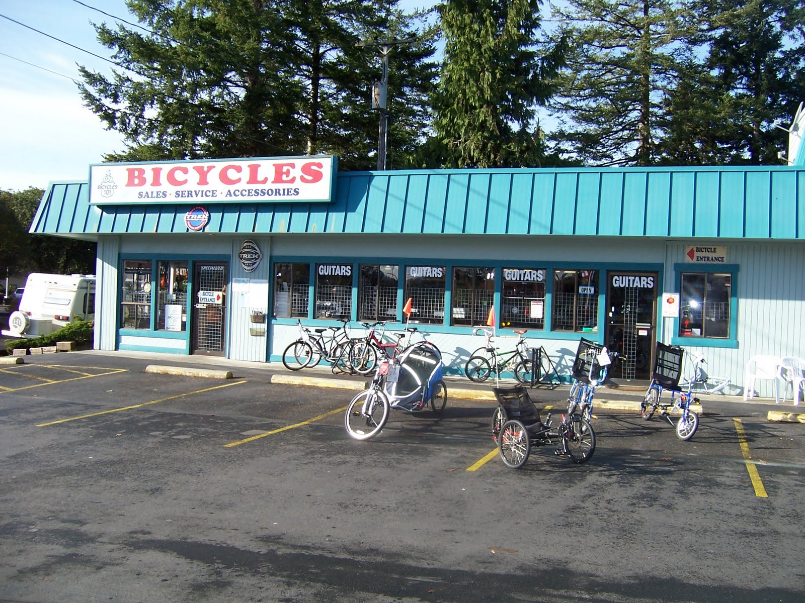 bicycles101 website florence oregon bicycles 101 store. Black Bedroom Furniture Sets. Home Design Ideas
