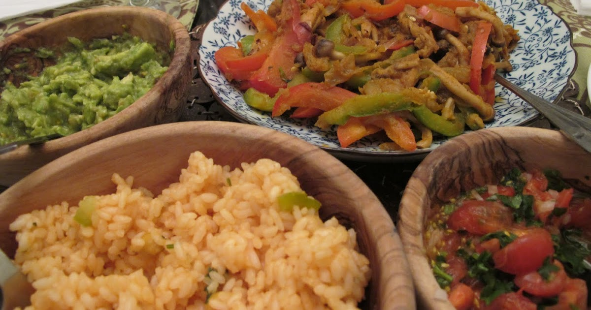 Steamed Mexican Food