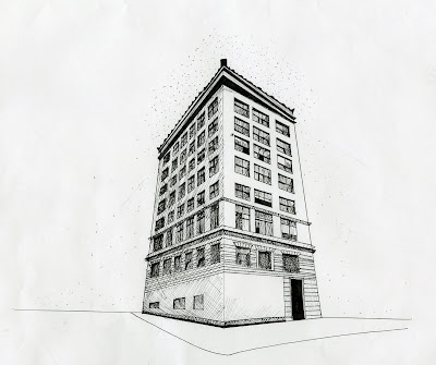 kristen sylvia: 3 Point Perspective Drawing