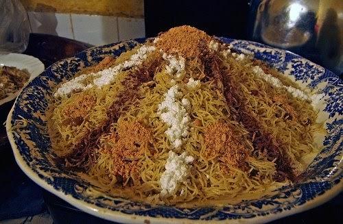 Moroccan shopping: Seffa a traditional Moroccan recipe