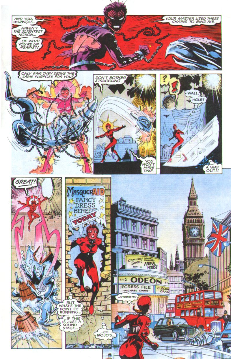 Read online Excalibur: The Sword is Drawn comic -  Issue # Full - 28