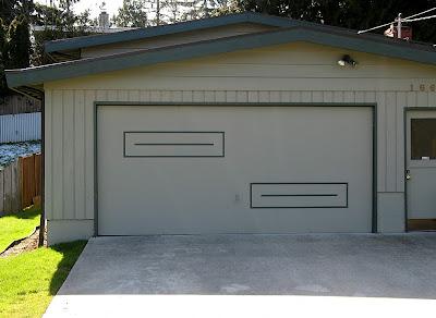 architecture, bellevue, garages, midcentury modern