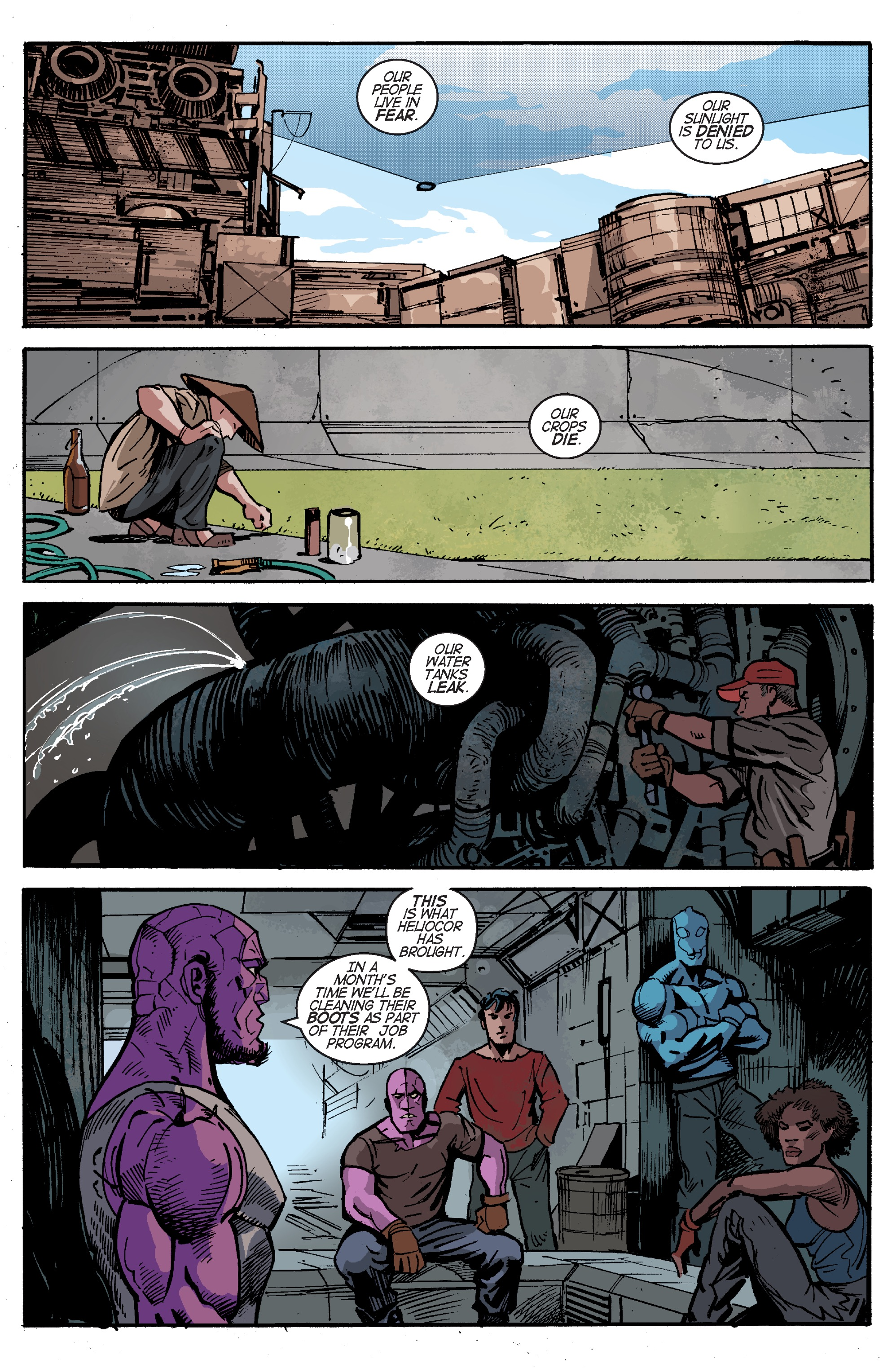 Read online Planetoid Praxis comic -  Issue #5 - 3