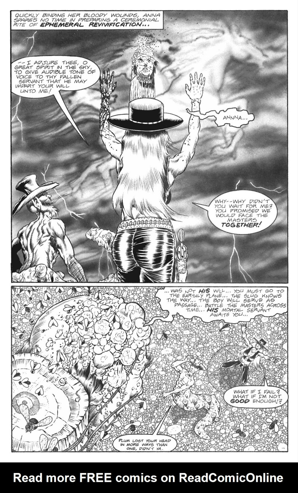 Read online Gunfighters in Hell comic -  Issue #4 - 14